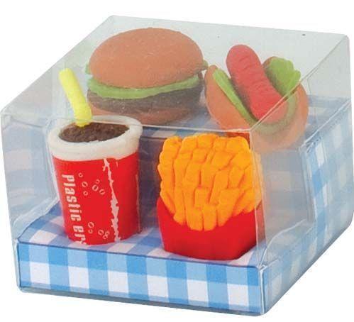 Food Erasers Ebay