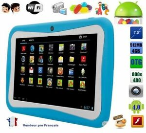 tablette tactile 7 pouce jeux educative enfant android wifi google play 4gb bleu ebay. Black Bedroom Furniture Sets. Home Design Ideas