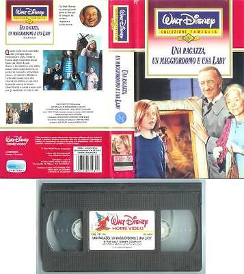 Una Ragazza, Un Maggiordomo E Una Lady (1978) VHS