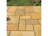 Tandur Yellow Limestone Paving Slabs |Mixed(4) Size Pack-17.72| £19.3 M2|
