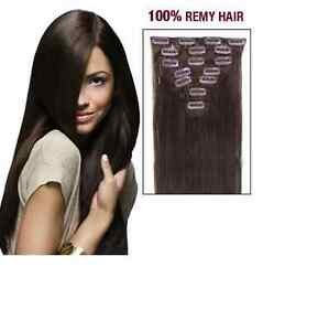 NaturalWay CLIP-IN EXTENSIONS - Cheveux naturels. Stile: CLOP-IN