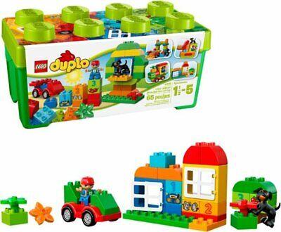 LEGO DUPLO 10572 All-in-One-Box-of-Fun 65pcs Preschool Building Toy Kids Constru