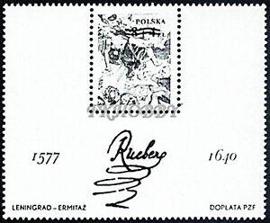 Poland 1977 Mi BL 67 ND ** Painting Gemälde Peinture Art Paul Rubens - Dabrowa, Polska - Poland 1977 Mi BL 67 ND ** Painting Gemälde Peinture Art Paul Rubens - Dabrowa, Polska