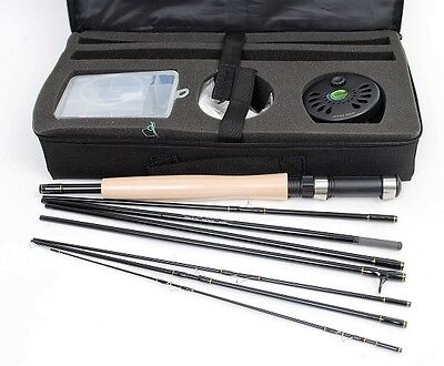 Crystal River Executive Pack Fly Rod, Reel Travel KIt