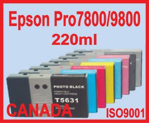 New Bulk Ink,Compatible,Epson 4000 4800 4880 7800 7880 9600 9800