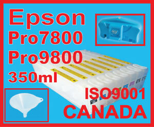 bulk Ink,Refill Cartredges Epson 4000/9600/4800/4880/9800/9880