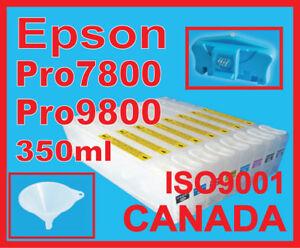 bulk Ink,Refill Cartredges Epson 4000/9600/4800/4880/9800/9880