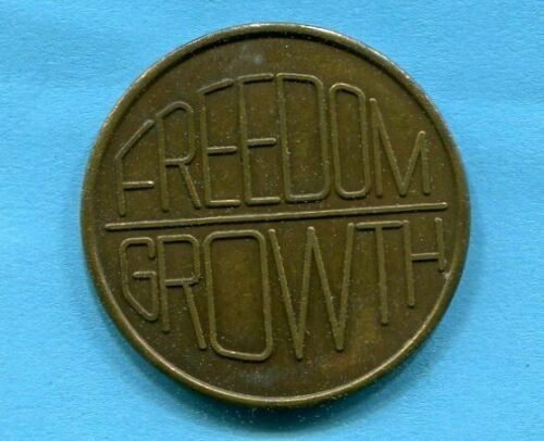 Vintage Butterfly Freedom Growth Recovery Serenity Token Medal Courage Wisdom