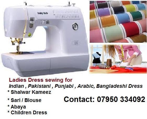Indian / Pakistani Asian Ladies Dress Sewing ,Tailoring & Alteration ...