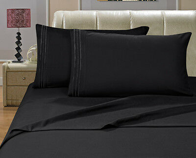 Luxury Egyptian Comfort 1800 Count 4 Piece Deep Pocket Bed Sheet Set