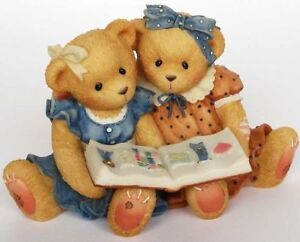 Cherished Teddies - Roxie and Shelly  Adorable BFF's