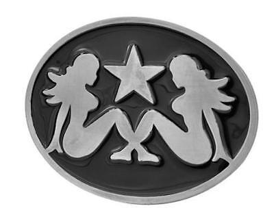 Belt Buckle tattoo vintage trucker cowboy Pin UP  Girls lucky13  biker - Cowboy Up Tattoos