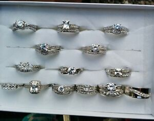 Wedding Sets and Single Rings- Size 8 and 9