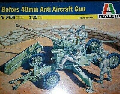 ITALERI 6458 Bofors 40mm Anti Aircraft Gun 1:35