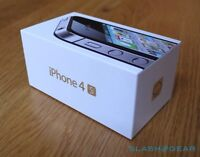 IPHONE 4S NEW/NEUF IN THE BOX BELL/VIRGIN WITH/AVEC GAURANTY