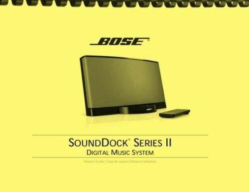 Bose SoundDock Series II Digital Music System OWNER