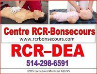 Cours RCR-DEA, clinique médicale,  Garderie, Preposé Etc