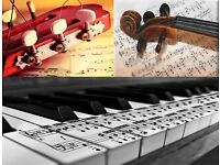 Guitar, Piano, Violin, & Ukulele Lessons - Friendly, Qualified, Experienced Teacher