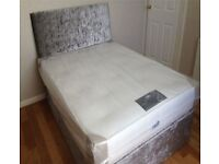 brand new double bed and mattress