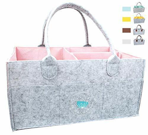 Lil Dandelion Diaper Caddy Organizer Pink Storage Baby Shower Gift Basket NEW