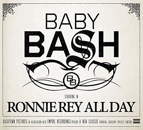 Baby Bash - Ronnie Rey All Day [New CD] Explicit, Digipack Packaging
