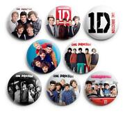 One Direction Buttons