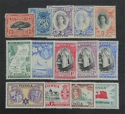nystamps British Tonga Stamp # 38//99 Mint OG H $40   L23x2384