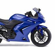 Kawasaki Ninja 250 Side Fairing