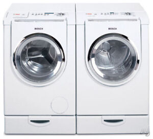 Bosch dryer large with stand white 500plus $250.00 White