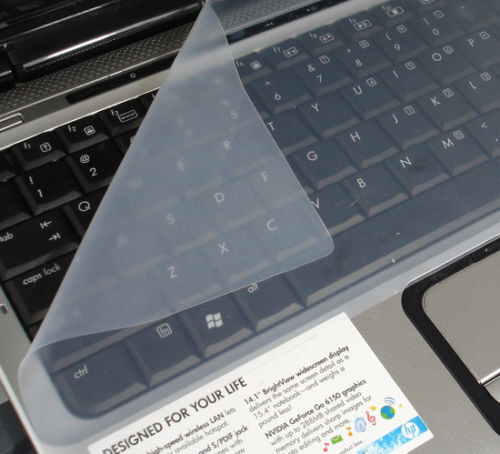 """Universal Silicone Laptop Computer Keyboard Cover Skin Protector Film 13'-14"""""""