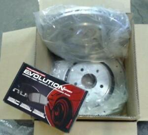 06 - 09 Cadillac XLR-V / 05 - 13 Corvette brake rotors and pads