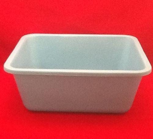 Case Of 12 Vollrath Autoclavable Ware Plastic 7.5 Qt Wash Basin 00047