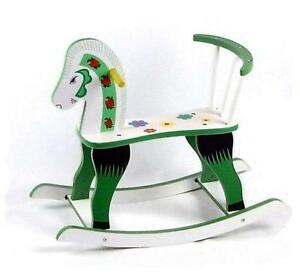 Wooden Rocking Horse Ebay
