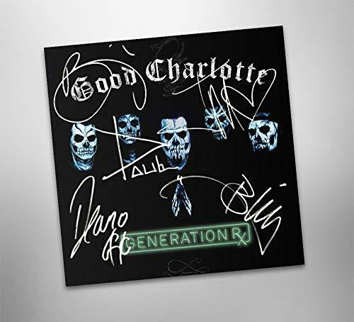 Autographed  GOOD CHARLOTTE Generation Rx CD Signed
