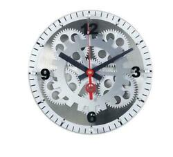 12 Maples Glass Face Mechanical Gear Movement Wall Clock Analog FREE SHIPPING!!
