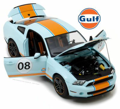 GREENLIGHT 1/18 GULF OIL 2012 FORD MUSTANG SHELBY GT500 #08 DIECAST CAR 12990