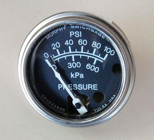 20BPG-100 FW Murphy Pressure Swichgage Gauge
