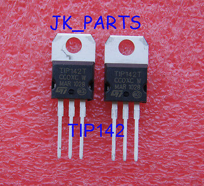 10pcs Tip142t Tip142 Npn Power Transistor