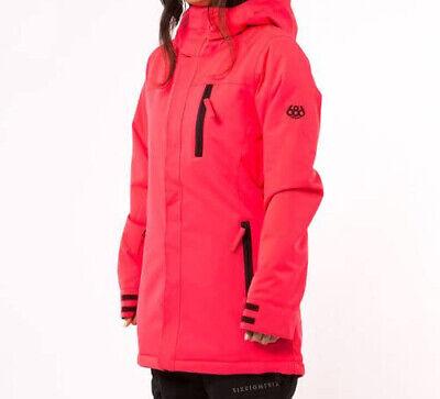 686 Mujer Eden Aislado Chaqueta de Snowboard (S) Eléctrico Amapola L6W317-EPPY