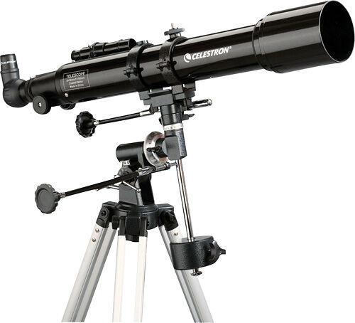 Celestron - PowerSeeker 70EQ Refractor Telescope - Black