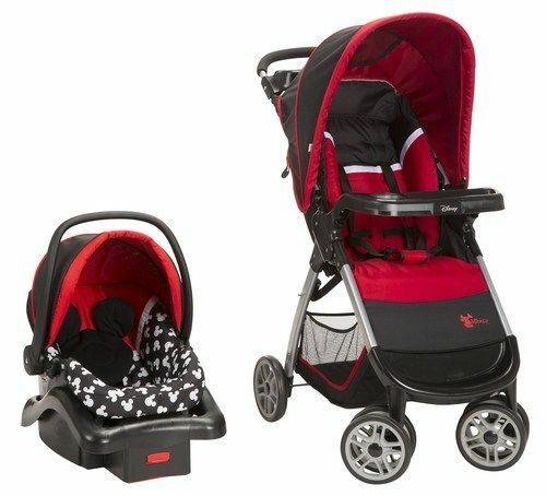 Disney Baby Amble Quad Travel System with OnBoard 22 Inf - M