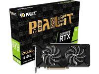 RTX 2060 Super Dual Graphics Card GPU 8 GB