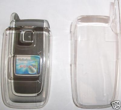 Clear Nokia 6101 Clip on cover , clips over phone, NEW UK seller Clear Cover Clip