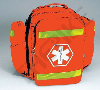 First Responder Ems Emt O2 Oxygen Trauma Backpack Orange