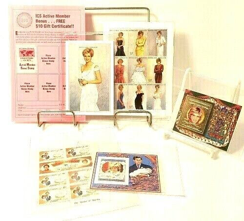 Princess Diana International Collectors Society Certificates Included