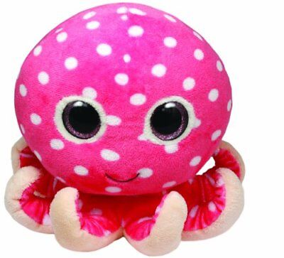 TY Beanie Boos OLLIE THE OCTOPUS New With Tag Smoke Pet Free Environment MEDIUM