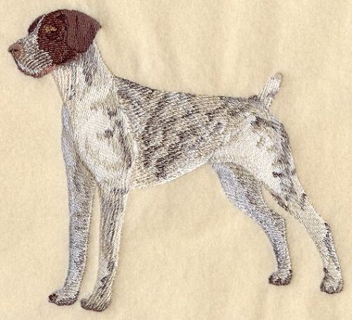 Embroidered Long-Sleeved T-Shirt - German Shorthaired Pointer C4970