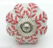 White Ceramic Door Knobs