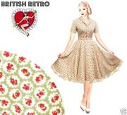 1940s Rockabilly Dress