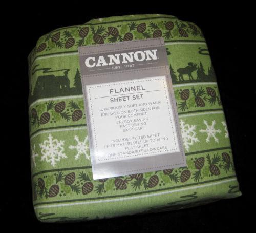 Moose Flannel Sheets Ebay